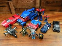 Transformers Action Figure Bundle - Optimus Prime Robots in Disguise