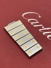 Genuine Cartier  Santos Gold  & Steel  Watch Bracelet  6 Links