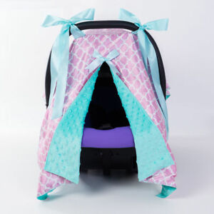 Baby Car Set Cover Stroller Shade Cover Breathable Baby Car Seat Blanket