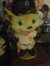 1960 Detroit Tigers Mascot Bobble Head Figure vintage rare