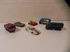 LESNEY ENGLAND VINTAGE Lot COMMER ICE CREAM TATE LYLE FOAMITE FORD  jouet ancien
