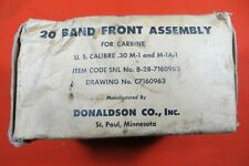 M1 Carbine Barrel Band, Made by Donaldson Manufacturing Co.  -  Marked-D  (2705)