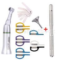 Dental 4:1 Reduction Contra Angle Reciprocating Interproximal Strip IPR Handle