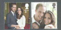 Great Britain -Royal Wedding set 2011 mnh--Royalty-Kate & William
