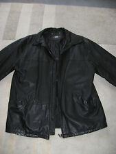 Herren Lederjacke schwarz Größe 50/52 L TCM Qualität