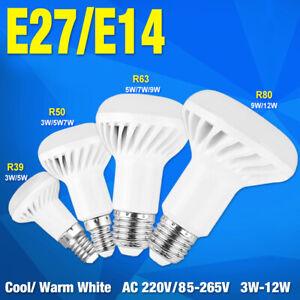 replacement bulb r39 r50 r80 led lamp e27 e14 reflector spot lights 3/5/7/9/12w