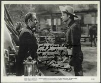 Actor Wyatt McCrea In-Person HAND SIGNED 1941 Original Joel McCrea Photo