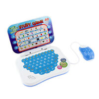 Folding Bilingual Learning Machine Early Educational Laptop Computer Toys