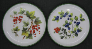 Two Schumann Germany Butter/Pin Dishes