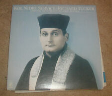 Kol Nidre Service Richard Tucker 1978 CBS LP