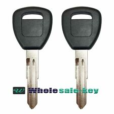 2 NEW Key For Honda Acura Transponder T5 Chip Ignition Entry Keyless HD106-PT5