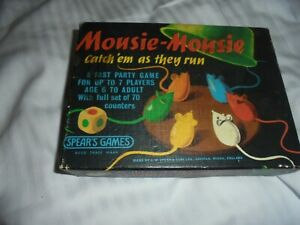 Vintage Mousie Mousie Games Spears Complete