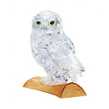 White Owl 3D Crystal Puzzle  - White Owl