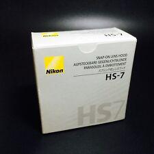 Nikon HS-7 Snap-On Lens Hood for 58mm F1.2 58mm F1.2S AF80mm F2.8S AF105mm F2.8S
