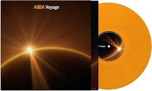 ABBA - VOYAGE UK LIMITED EXCLUSIVE ORANGE VINYL LP
