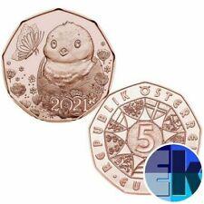 Pièces euro d'Autriche pour 5 euro