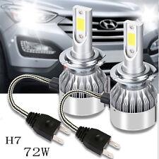 72W 7200LM H7 LED Car Headlight Kit COB CREE Scheinwerfer Lampen Licht 6000K