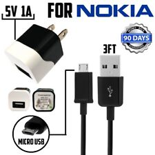 5V 1A wall charger For Nokia Microsoft Lumia AC-20A AC-6U With Micro USB Charger