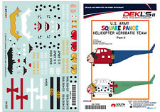 1/72 Decals-US Army Helicopter Aerobatic Team 'Square Dance' Pt2 - DEKL's II