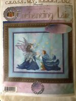 RARE The Proposal counted Cross stitch kit Enchanted Lair Cross My Heart sealed