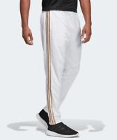 Adidas Tiro 19 Pants White Gold Mens Medium Climacool Soccer Training Slim Fit