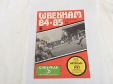 Wrexham v Bury  Leauge Division 4 December  1984