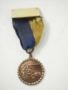 Vintage Cub Scouts Soap Box Pinewood Derby Ribbon Medal