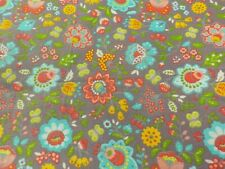 1 1/2 Yards Cotton Fabric-Marjorie Small-Floral Butterfly-sku 030010