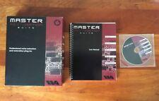 WAVEARTS MASTER RESTORATION SUITE: Box w Win & Mac CD & Serial Number & Manual