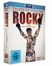 ^ROCKY^ - Complete Saga [6 Blu-rays] NEU OVP SYLVESTER STALLONE Deutsche Ton