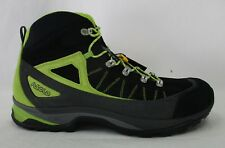 Asolo Mens Fulton Hiking Boots A40018 Black (w/ Lime Green) Size 11.5