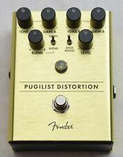 More details for fender pugilist distortion effects pedal *uk seller & free post*