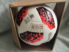 Adidas Final France - Croatia Telstar 18 Match World Cup Cup Ball Size 5