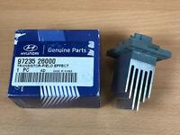 Genuine HYUNDAI Heater Fan Blower Resistor i30 I 1.4 1.6 2.0 07->12 9723526000