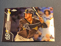 2020 Topps Chrome TRENT GRISHAM #101 RC Rookie San Diego Padres