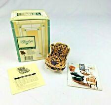 Vintage Take a Seat by Raine dollhouse miniature Mrs. Vanderbilts chair c.1897