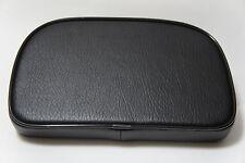 Lambretta S2 S3 Li TV GP SX Luggage Rack Rear Back Rest Seat Pad Black