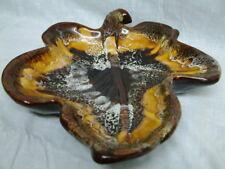 Stylisch Grosse Blatt Obstschale Keramik France 50er/60iger Jahre Vallauris