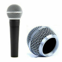 1x Replacement Ball Head Mesh Microphone Grille for SM58 Beta58/Beta58a Metal