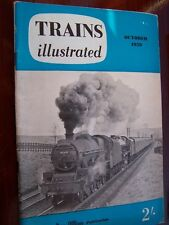 VINTAGE TRAINS ILLUSTRATED MAGAZINE OCTOBER 1959 IAN ALLAN COLLECTIBLE