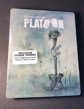 Platoon [ Limited Edition STEELBOOK ] (Blu-ray Disc) NEW