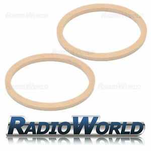 """6x9"""" MDF Speaker Spacer Mounting Rings 18mm Thick Pair"""