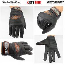 Harley Davidson gloves,motorcycle gloves,mens,black leather gloves,S,M,L,XL,XXL