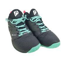 Head Sprint Sf Mens Super Fabric Athletic Tennis Shoes Black/Teal Size 8
