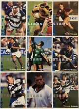 1995 DYNAMIC MARKETING RUGBY UNION RISING STARS 9 CARD SET - TRADING CARDS MINT