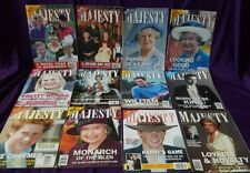 Majesty Magazine Volume 24, All original issues from 2003, British Royal Family