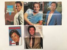 DON JOHNSON,MIAMI VICE AS A FRONT COVER ON RARE GREEK MAGAZINE1986 & POSTERS