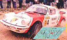 Calcas Porsche 911 4x4 Rally San Vicente 1991 1:32 1:24 1:43 1:18 Zanini decals