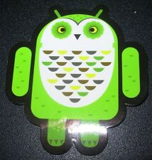 """ANDROID DROID Whoogle the Owl robot logo Sticker 2.5"""" Google andrew bell"""