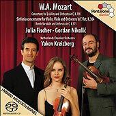 Mozart: Sinfonia Concertante [Hybrid SACD], New Music
